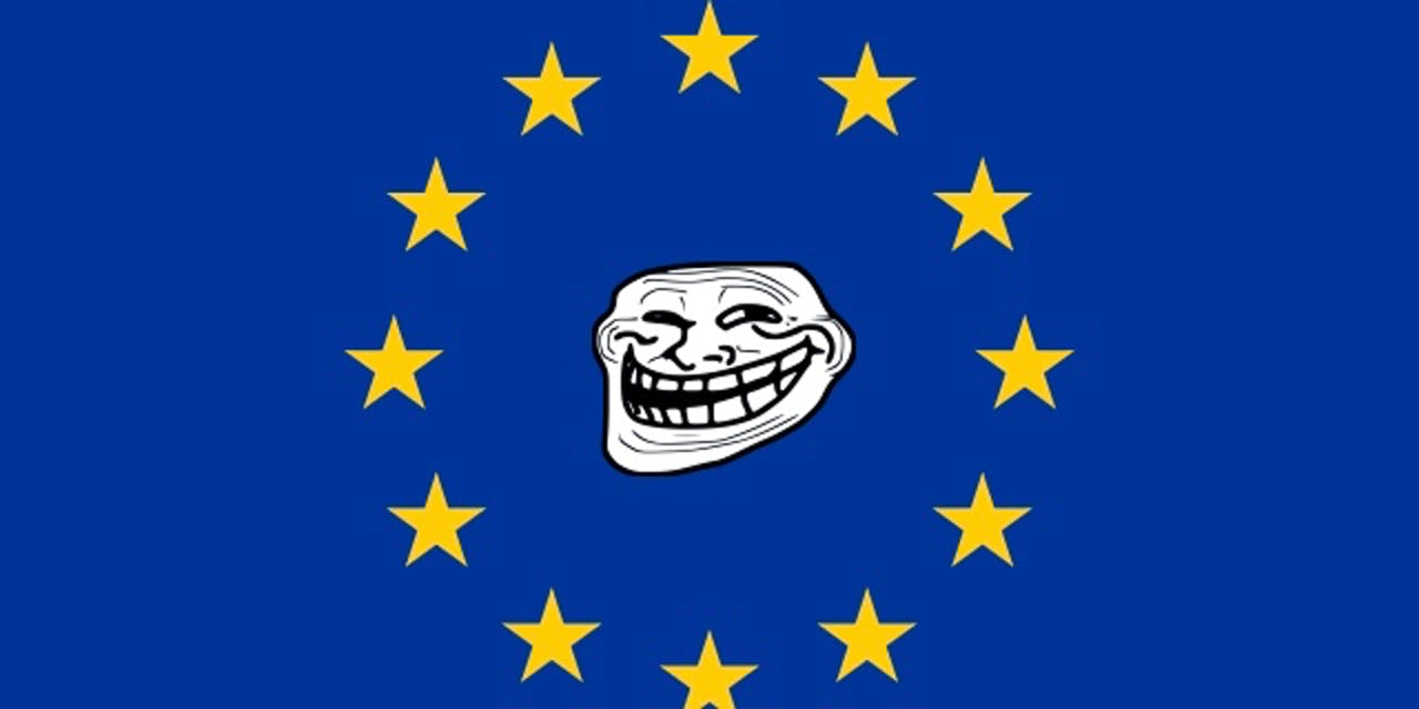 european union troll flag