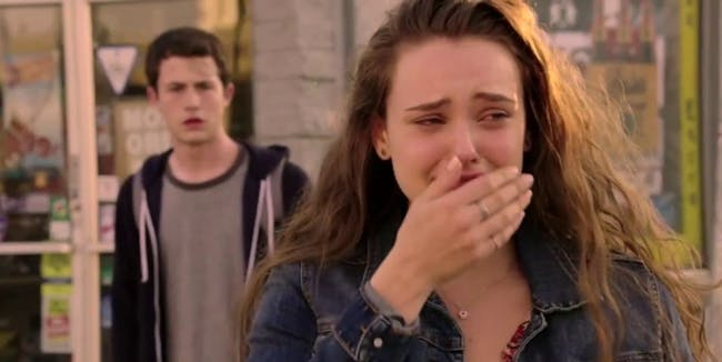 13 reasons why hannah baker clay jensen Katherine Langford  Dylan Minnette