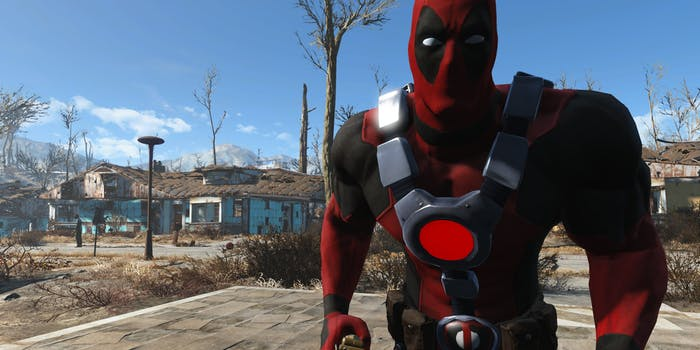 fallout 76 fallout 4 mods deadpool