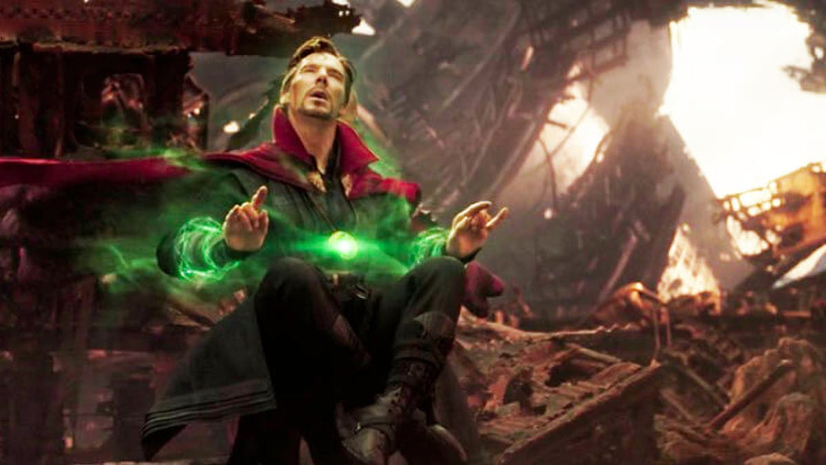 Image result for dr strange seeing every possible future