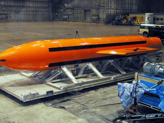 "The ""Mother of All Bombs"" Uses This Australian Underwater Explosive"