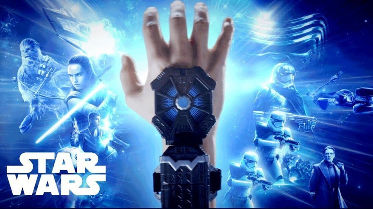 Hasbro's Force Link band offers up some interactivity with most of their Star Wars toys.