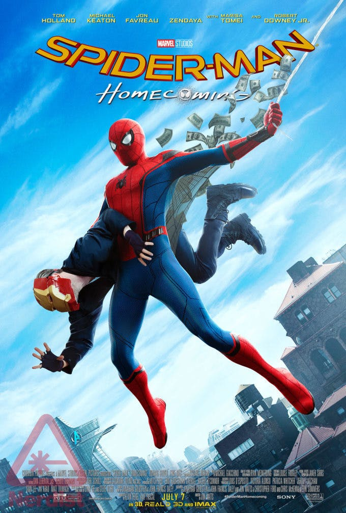 Sony Marvel Spider-Man Homecoming Poster Amazing Fantasy
