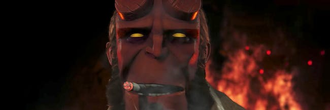 Injustice Hellboy DC