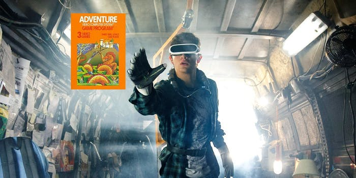Among perhaps hundreds of Easter eggs in 'Ready Player One', this one was totally real.