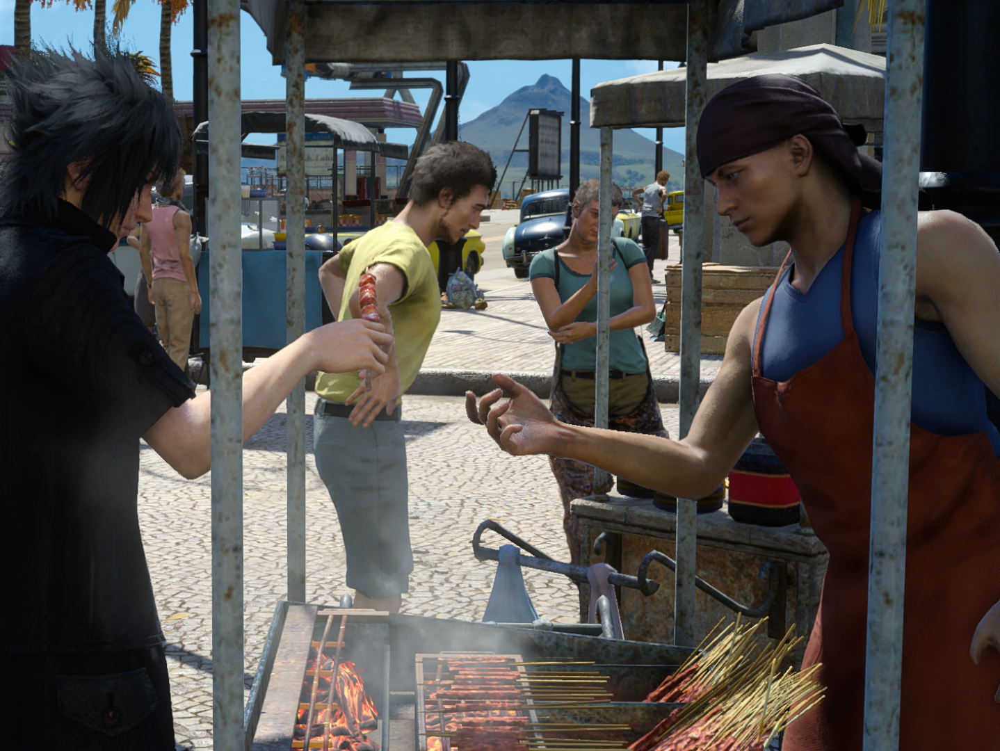 The Food in 'Final Fantasy XV' Will Legit Make You Hungry