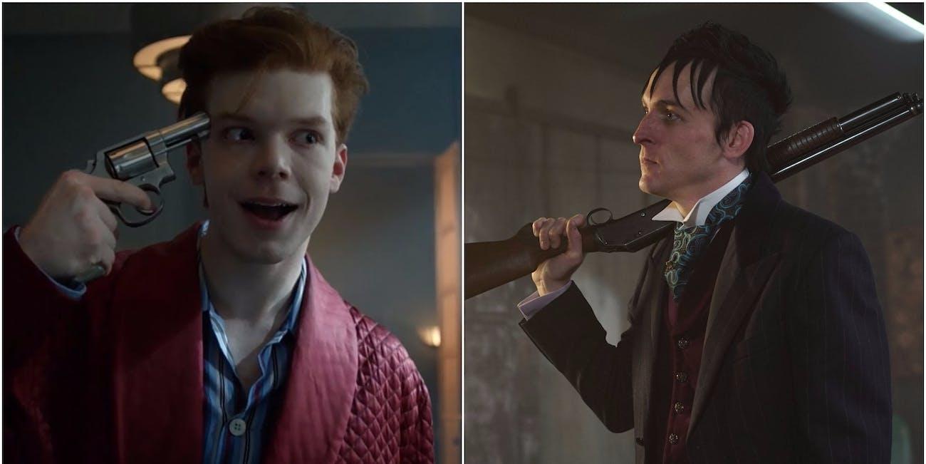 Joker and Penguin in Fox' 'Gotham' TV Show