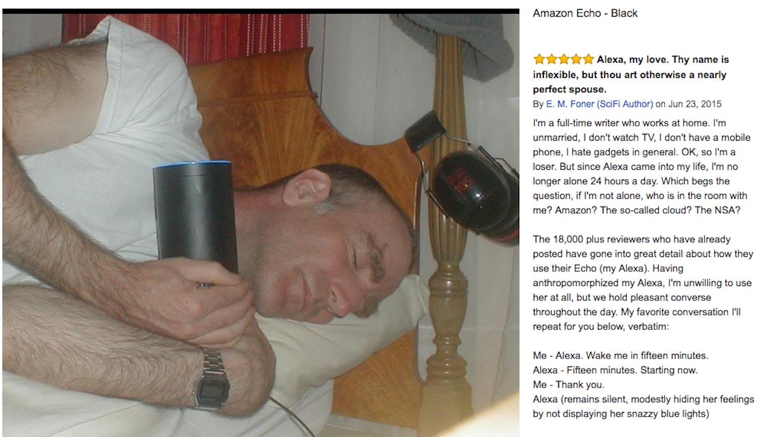 E.M. Foner's proposal to Amazon Alexa.