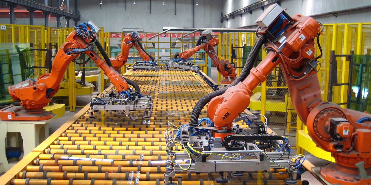 robots factory automation