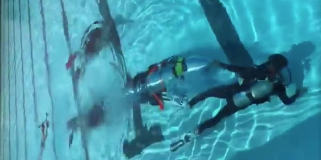 Thai cave submarine