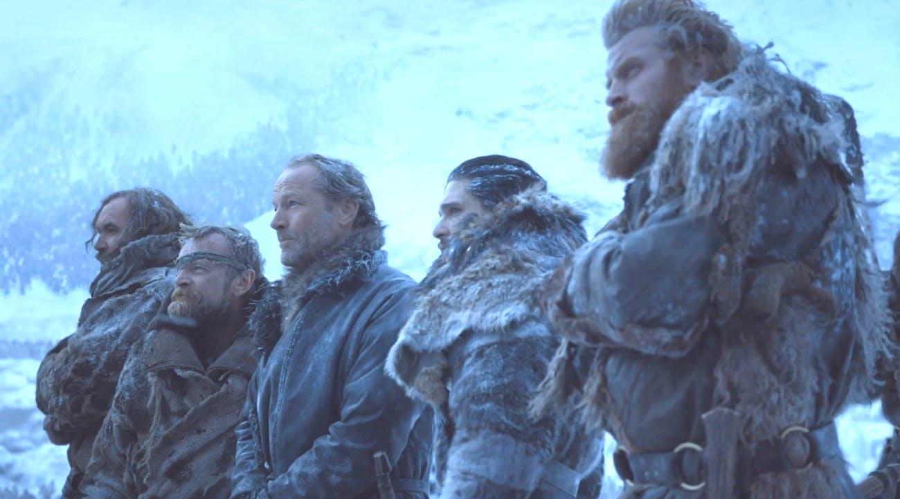 "Kit Harington as Jon Snow in ""Beyond the WAll"""
