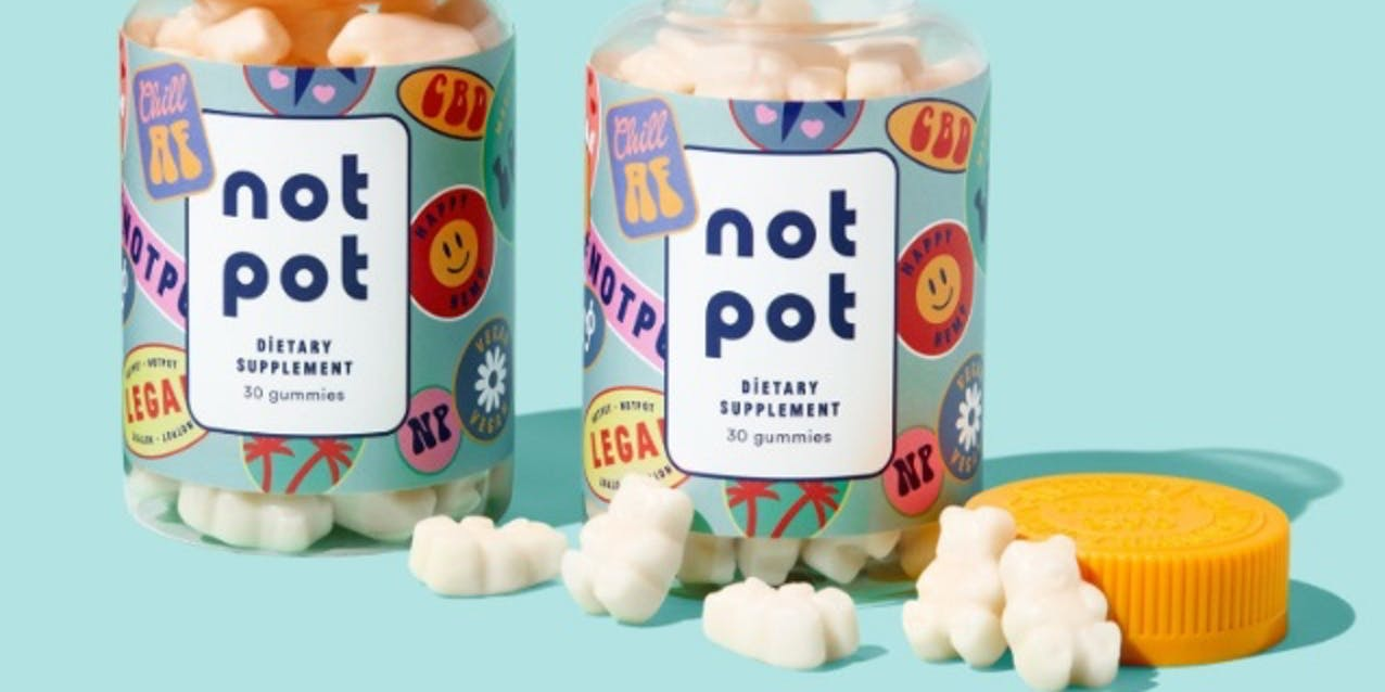 Not Pot Vegan CBD Gummies