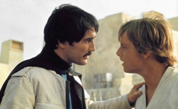 Have you ever wondered why Luke is so friendly towards Biggs later in 'A New Hope', almost as if we should recognize him?