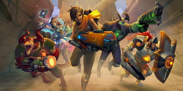 'Paladins' has a wild assortment of characters to choose from.
