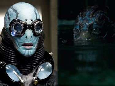 Hellboy Abe Sapien Shape of Water