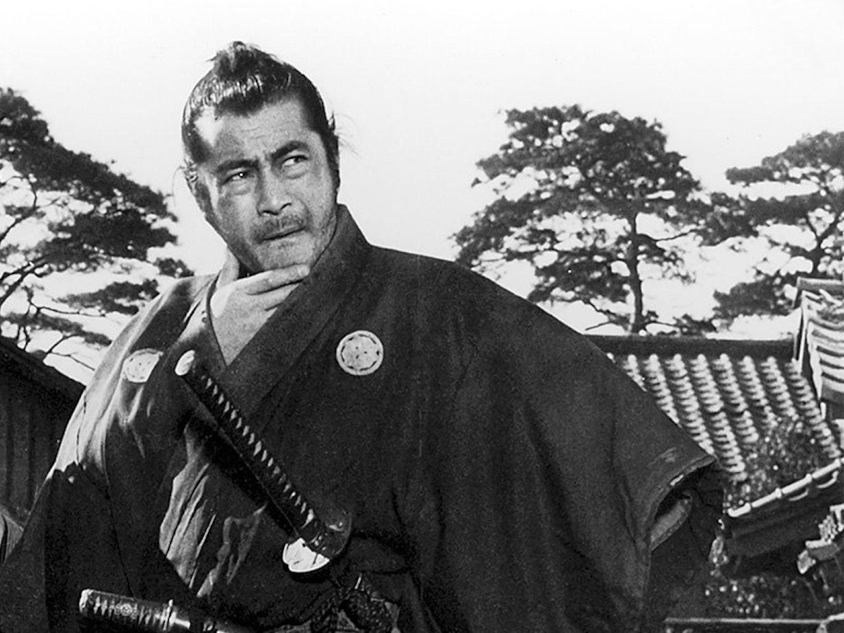 Toshiro Mifune in 'Sanjuro'
