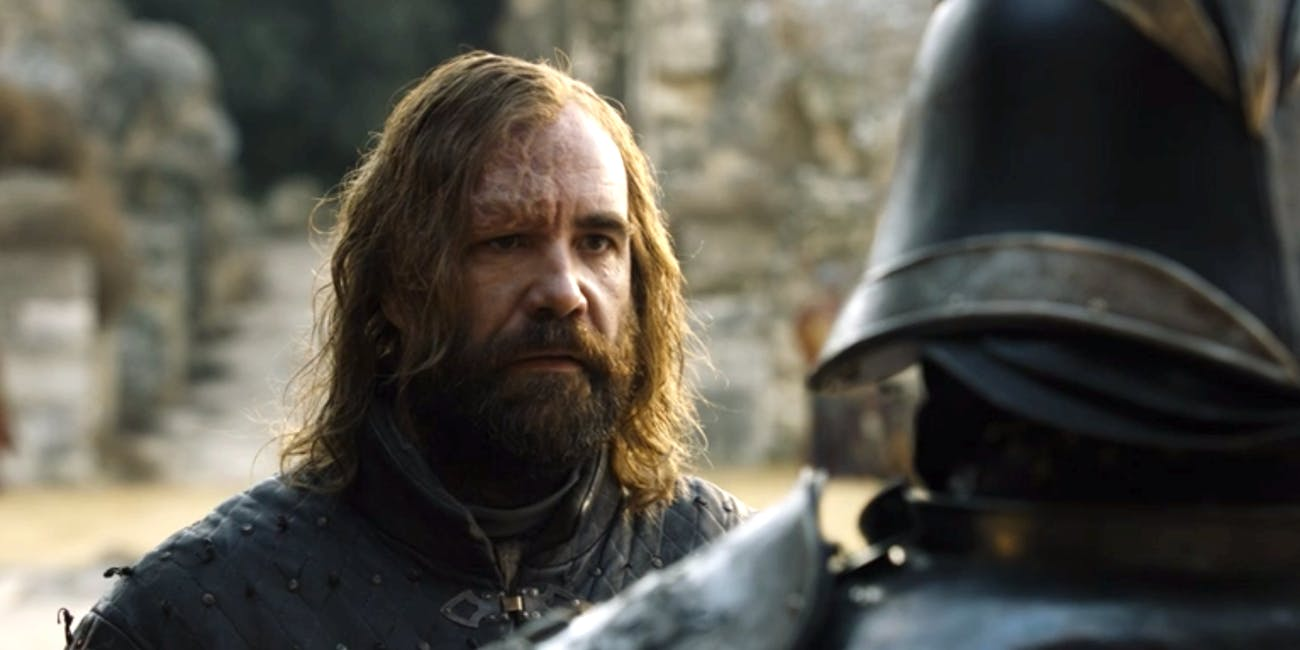 Sandor is ready for Cleganebowl. Are you?