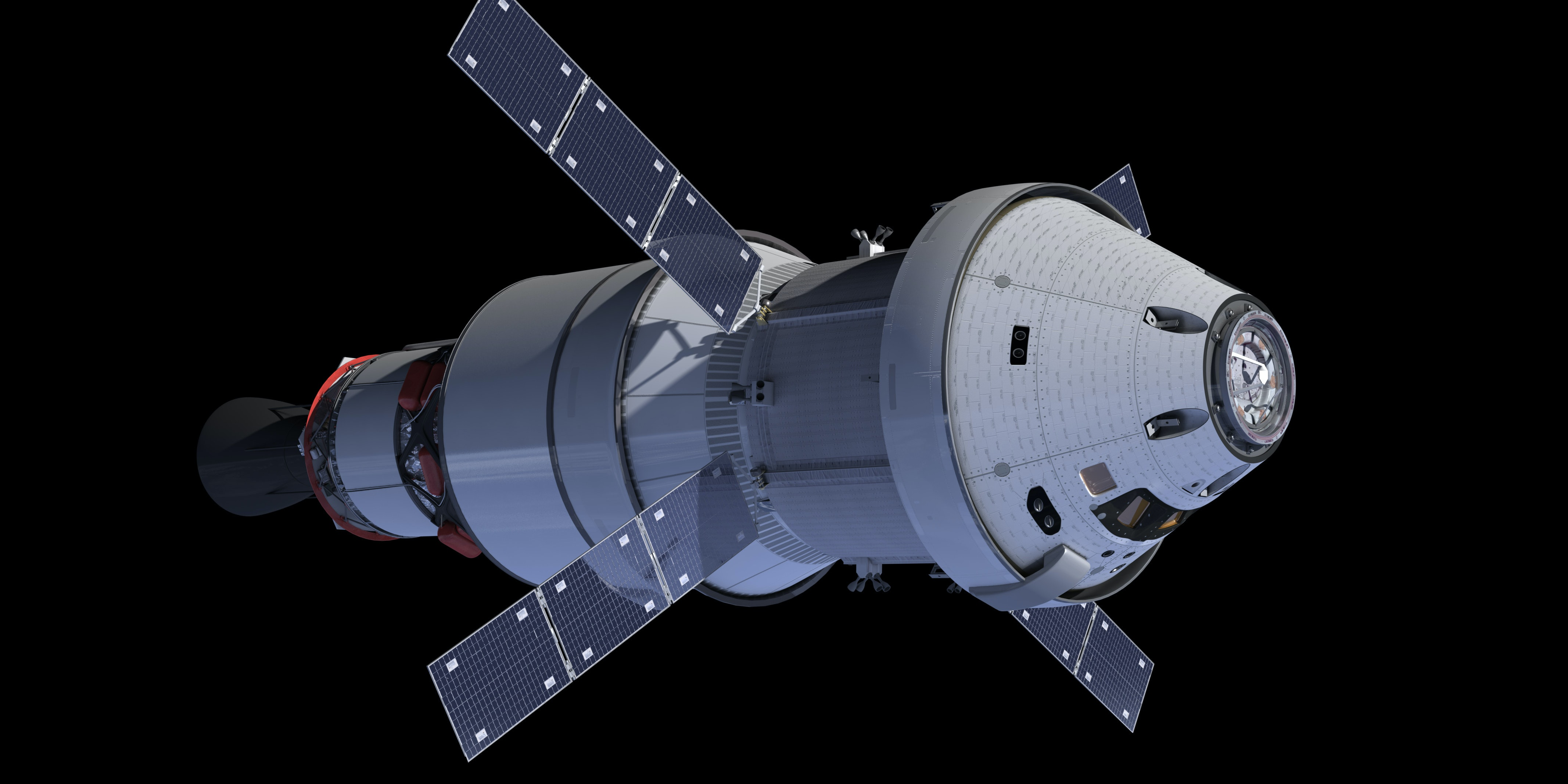 Concept art for the Orion spacecraft.