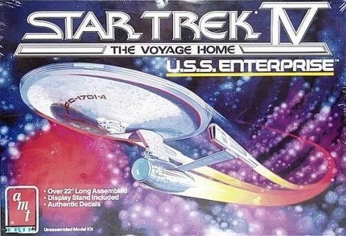 Vintage 1986 Enterprise model kit