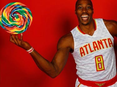Dwight Howard Is Proof You Can Eat Too Much Candy