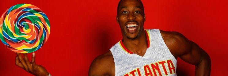 Dwight Howard eats an insane amount of candy.