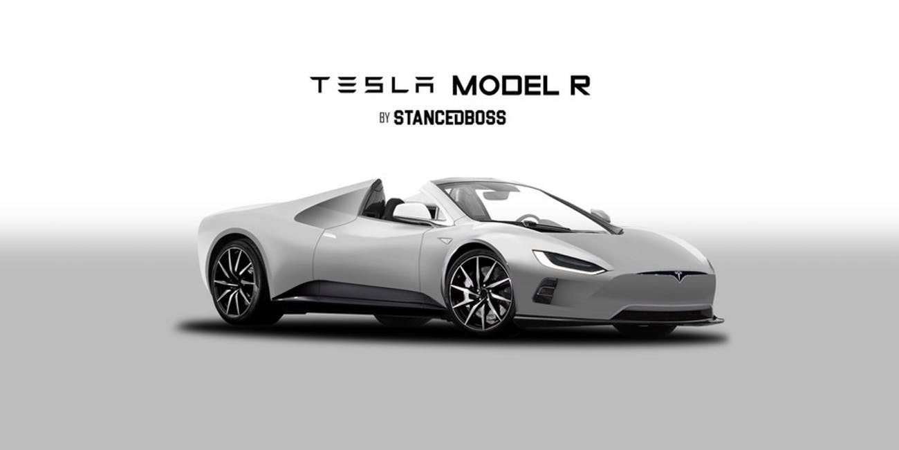This Tesla Roadster Concept Makes The Model 3 Look Ancient