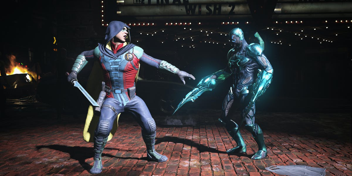 Injustice 2 Robin Blue Beetle