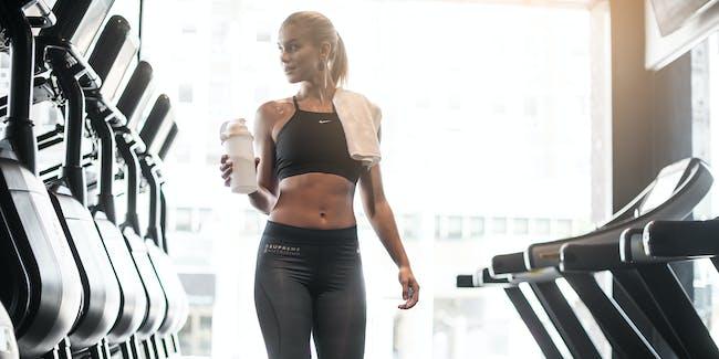 Female in Gym