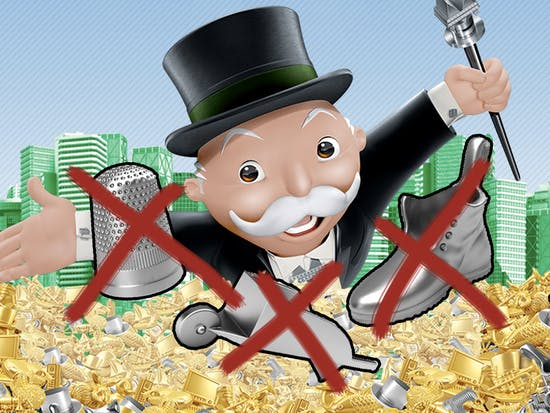 Three Classic Monopoly Tokens Are Being Replaced