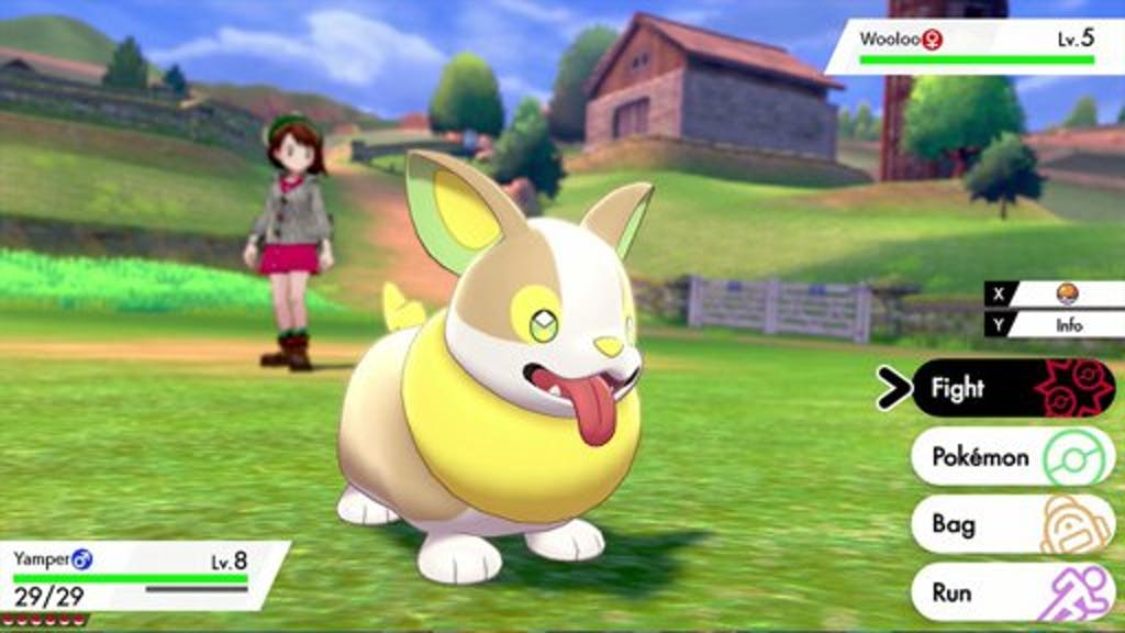 Pokemon Sword and Shield Yamper PAX West