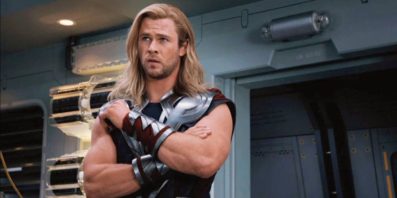 Thor looks like he's learning something here.