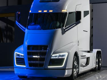 Nikola Motors Wants to Use Tech to Fix Trucking's Millennial Problem