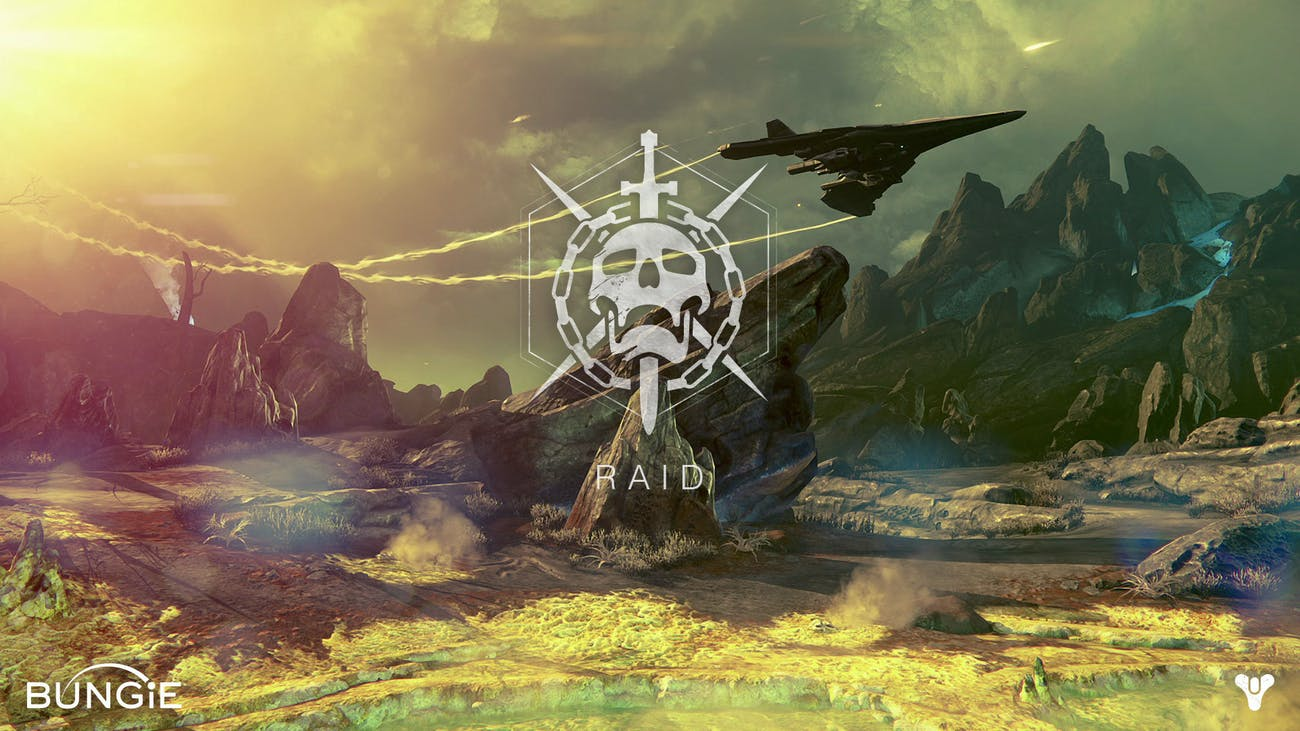 The infamous skull with swords and chains signifies death in 'Destiny.'