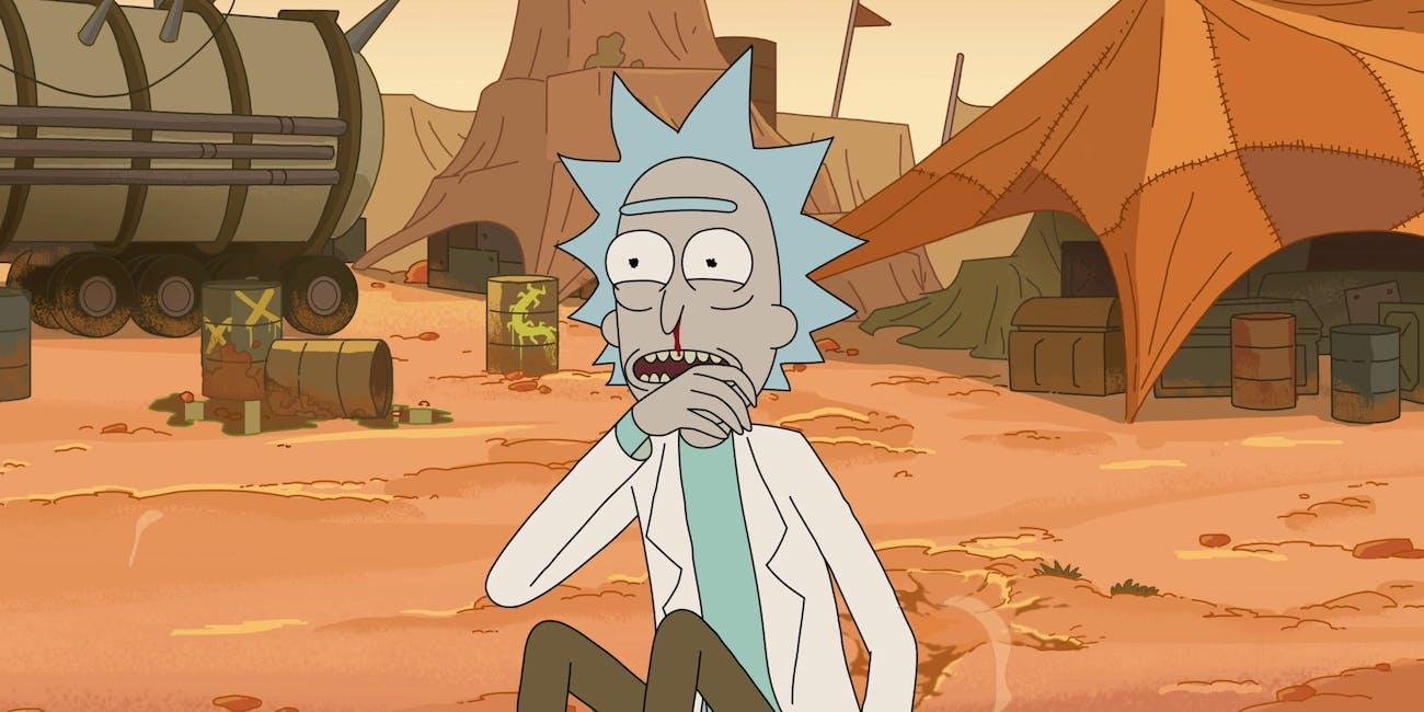 Rick's excited for Season 4 of 'Rick and Morty'.