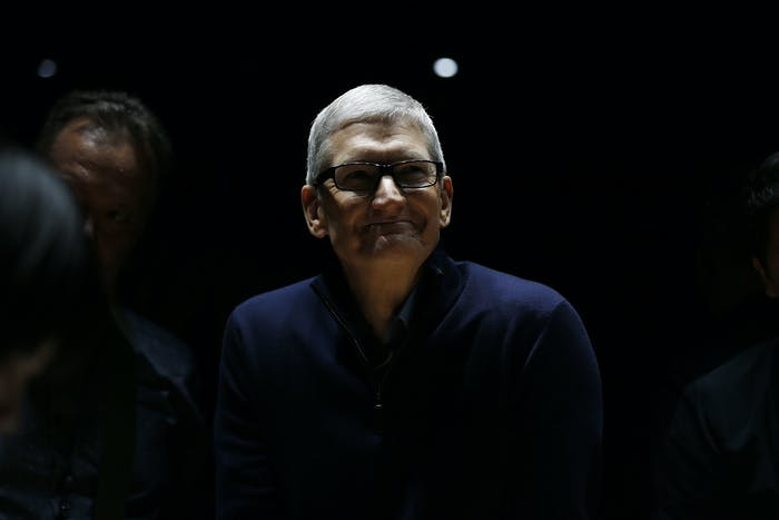 "Tim Cook is ""likely a workaholic with a very intense drive to succeed,"" according to CaliberMind."