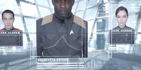 Captain Balthazar's service record in 'Star Trek Beyond.'