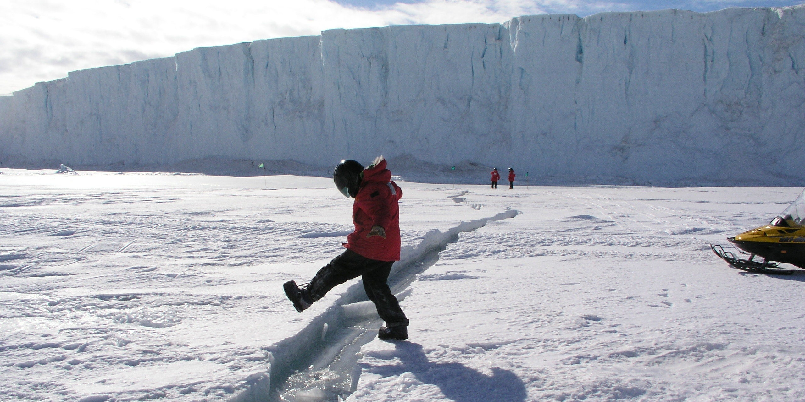 Antarctica Ice Shelf Larsen C Crack