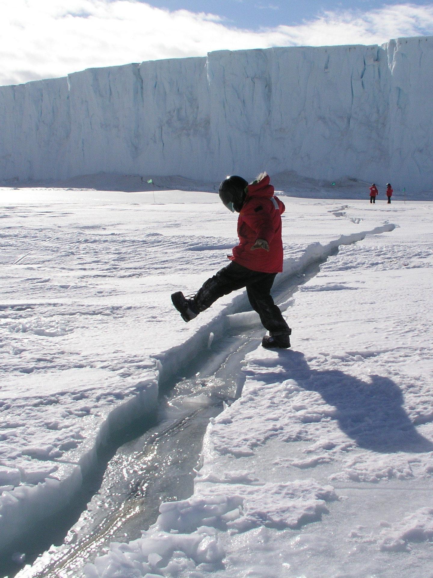 Antarctica Ice Shelf Larsen C Crack