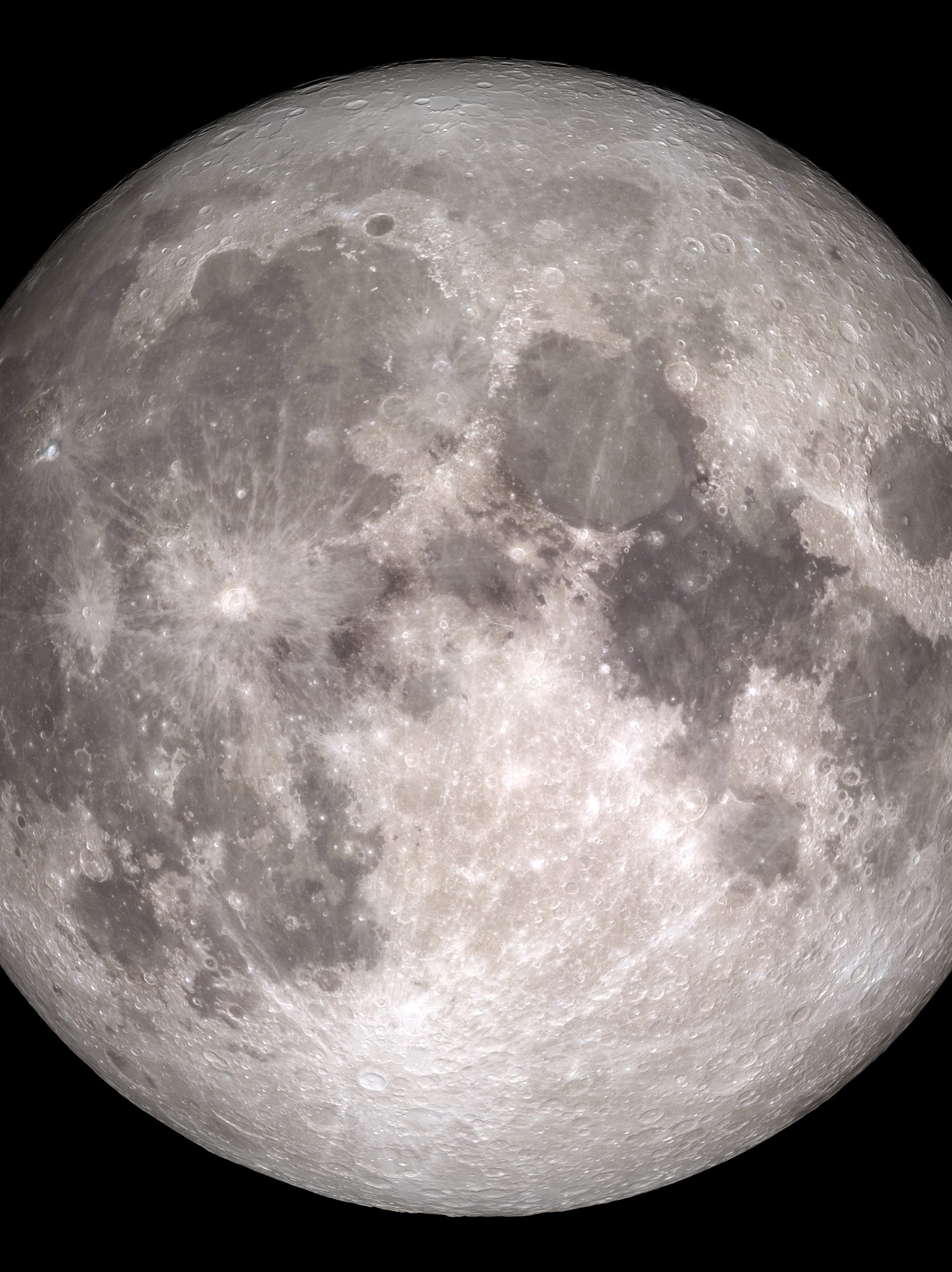 View of a rare full moon on Christmas day in 2015. This won't happen again until 2034.