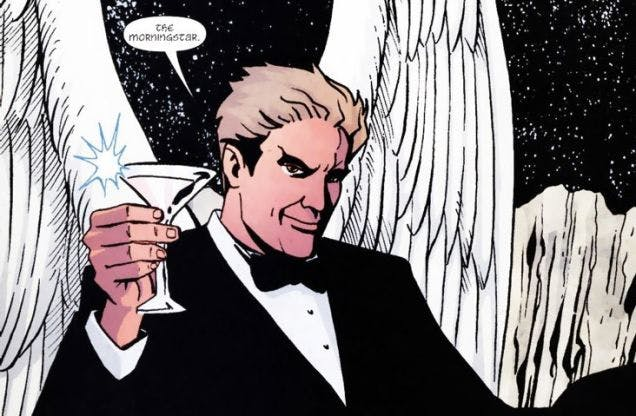 Neil Gaiman's Lucifer Morningstar