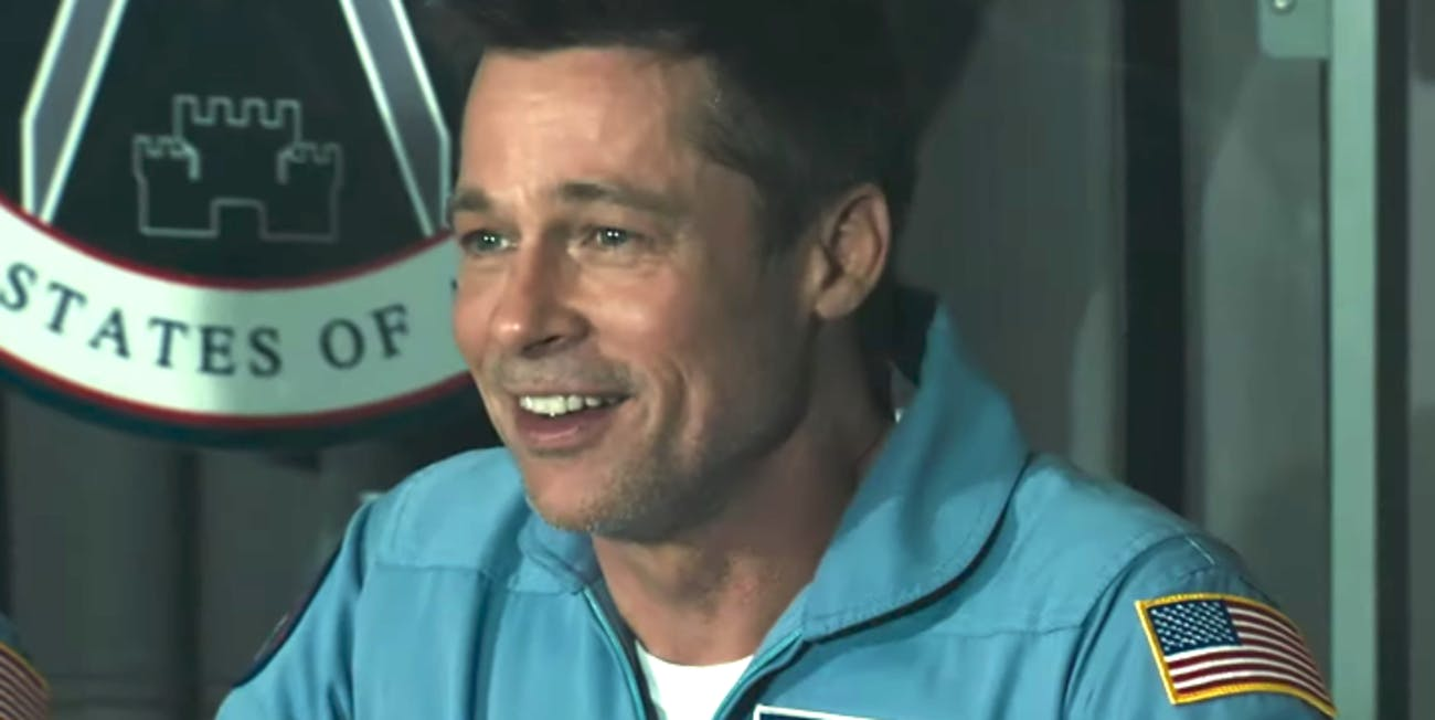 Brad Pitt as Roy McBride in 'Ad Astra'