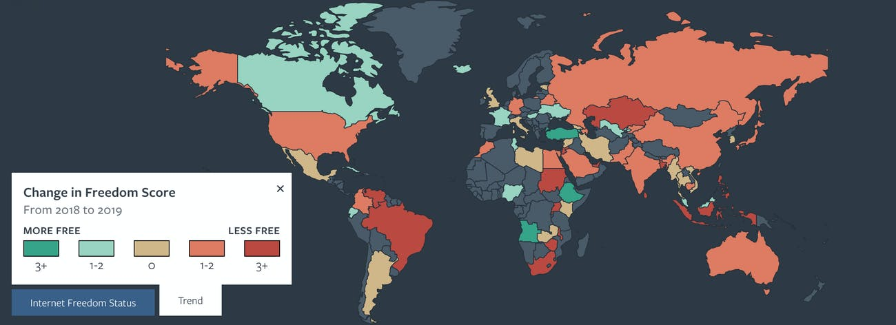 internet freedoms america map