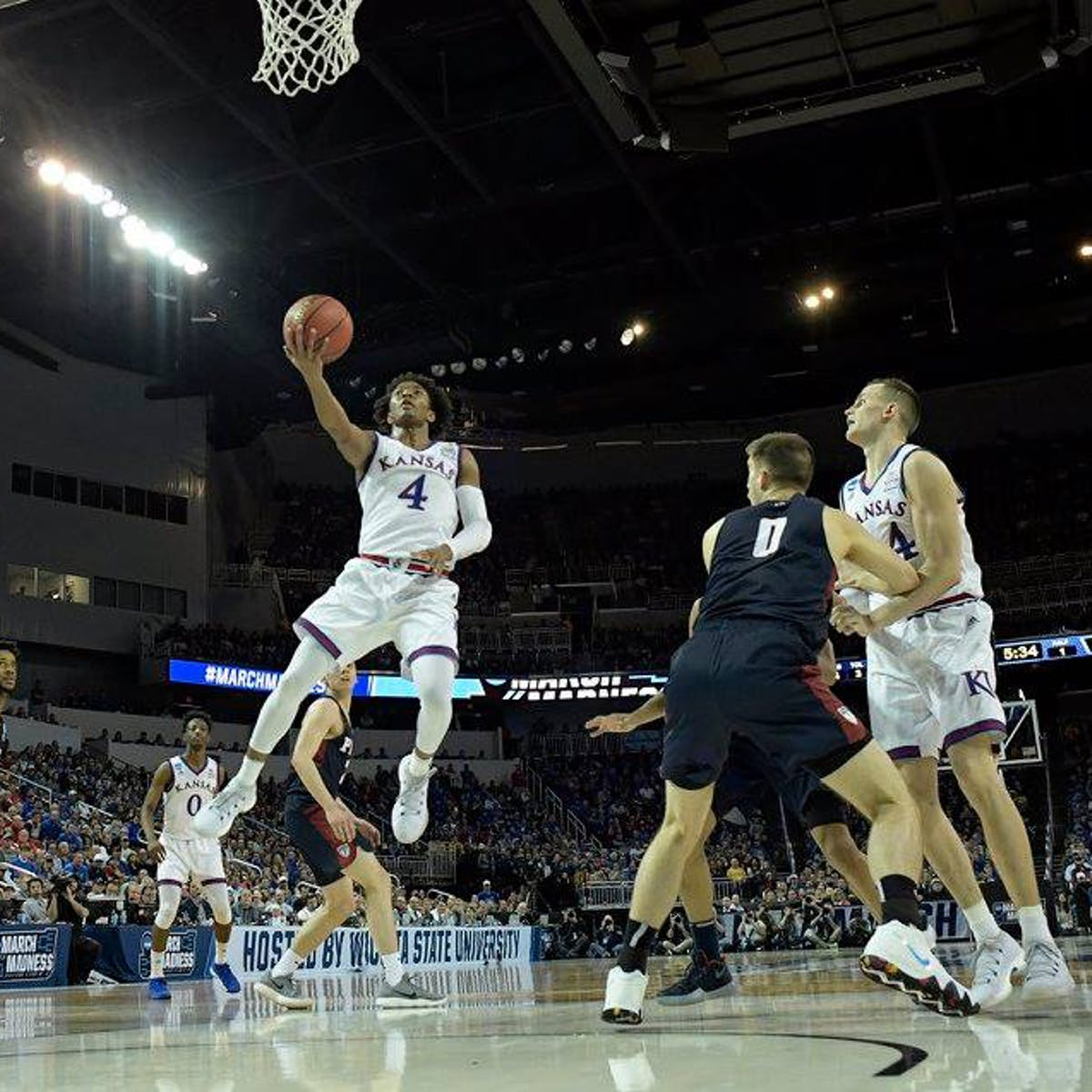 09f68a09defa March Madness  Will Kansas Make the Sweet Sixteen  A.I. Predicts ...