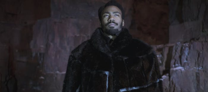Donald Glover as Lando