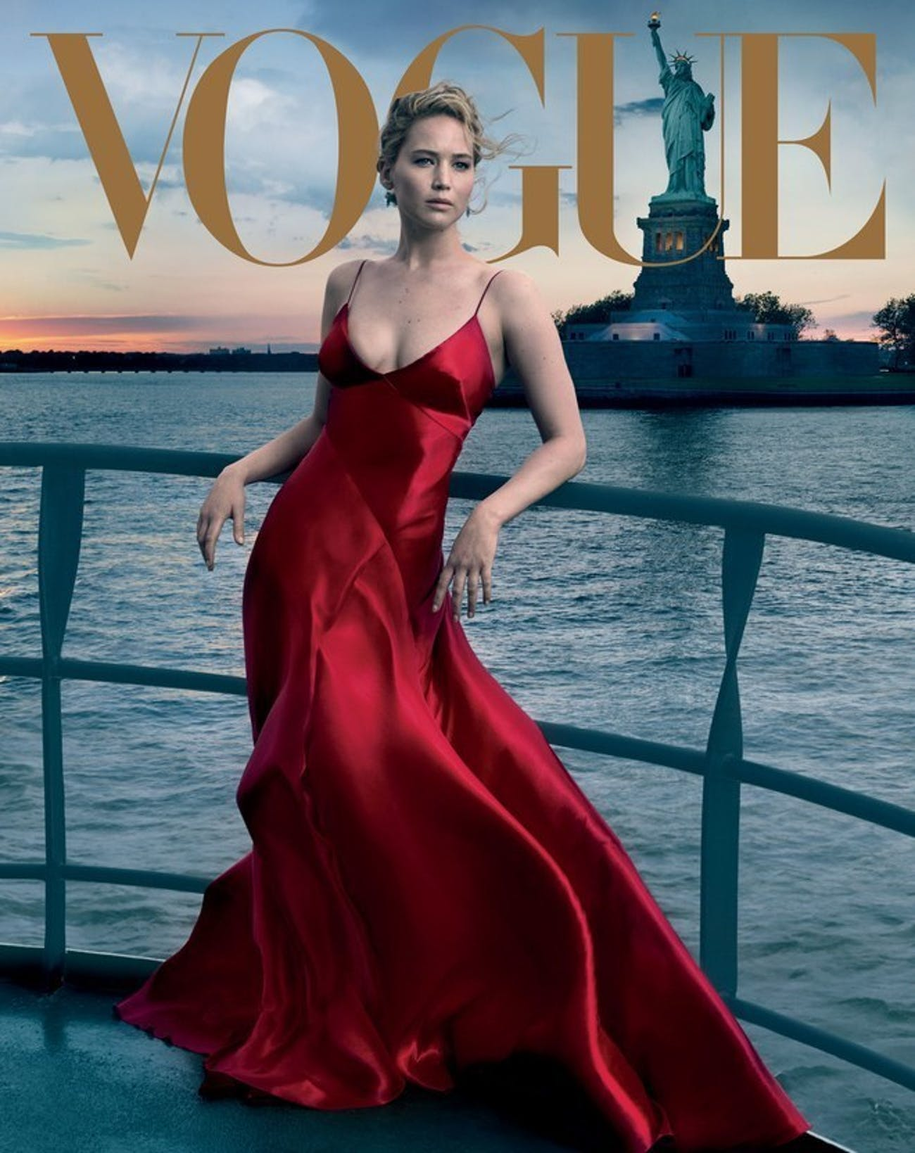 Jennifer lawrence vogue cover