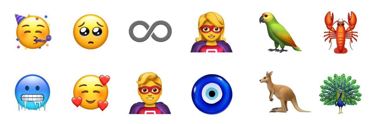 Superhero Red Hair Among Apples 70 New Emoji For World Emoji Day