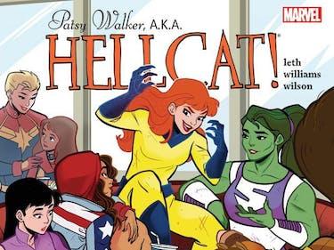 The 'Jessica Jones' Spinoff 'Hellcat' is 2016's Best Comic Book