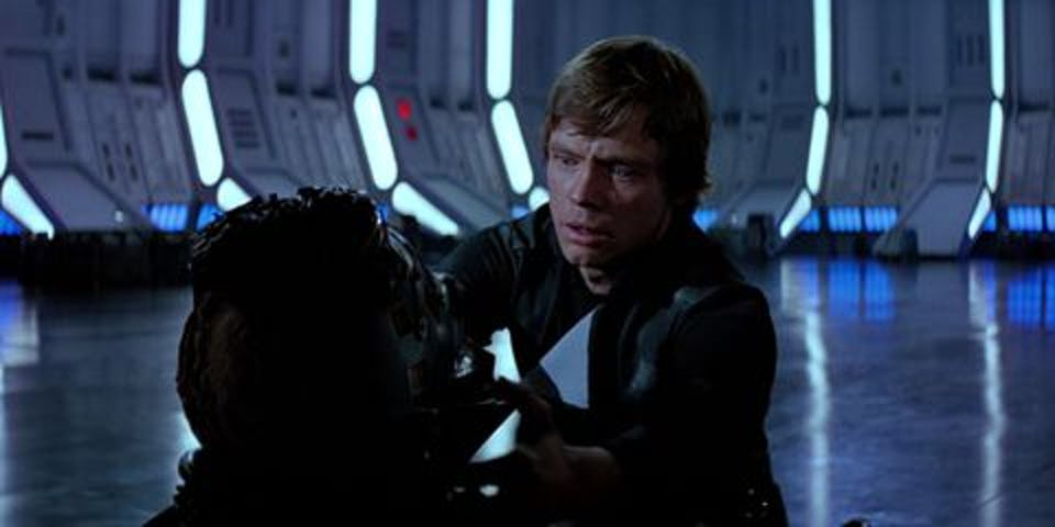 Luke in 'Return of the Jedi'
