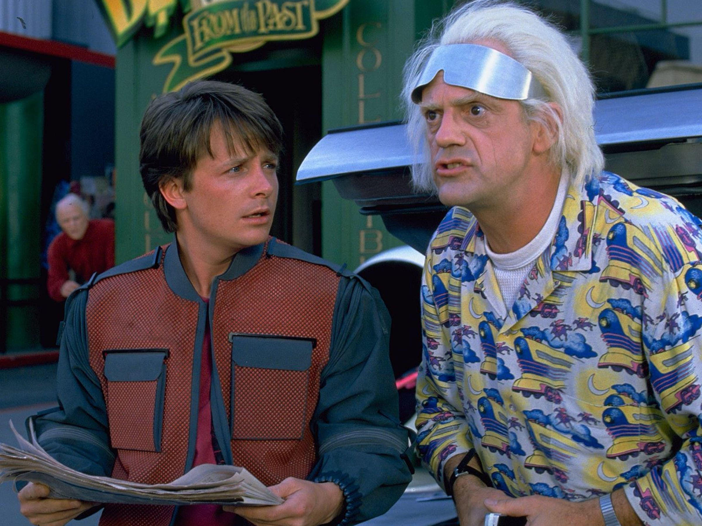 Image result for back to the future 2
