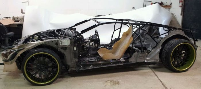 Infinitie G35 coupe chassis